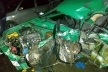 Чернівецька область: легковик протаранив вантажівку - розбився вщент, є постраждалі (Фото)