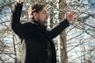 Рок-гурт «Друга ріка» в лютий мороз знімали кліп у горах Буковини (Фото, відео)
