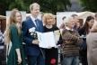 У День Європи лауреатам премії імені Георгія Гараса вручили премію (Фото)
