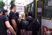 Дві чернівецькі маршрутки зійшли з рейсу (Відео)