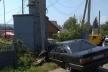 На буковині водій на «Ауді» збив електроопору і втік з місця аварії