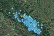У мережі опублікували карту карпатських будиночків, де можуть зупинятись заблукалі туристи