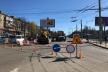 На проспекті Незалежності у Чернівцях триває ремонт (Фото, відео)