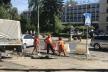У Чернівцях чистять дощоприймачі