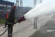 На Дністровській ГАЕС вогнеборці  гасили пожежу на трансформаторі (відео)