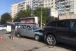 У Чернівцях потрійна ДТП із постраждалими