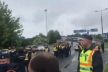 На пункті пропуску ЧОП утворилася черга в 3 км та заворушення: українці не можуть повернутися додому (відео)