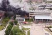 Масштабна пожежа у Чернівцях: травмовано рятувальника (відео)
