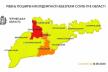 Чернівці у «помаранчевій зоні»: забороняються планові госпіталізації у лікарнях