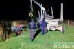 На Буковині трактор перекинувся в озеро: водій загинув