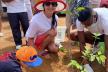 Чернівецька депутатка садить у Єгипті дерева і прибирає сміття (ФОТО)