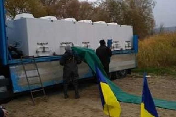 В селі Непоротове в річку Дністер випустили близько 3 тонн риби