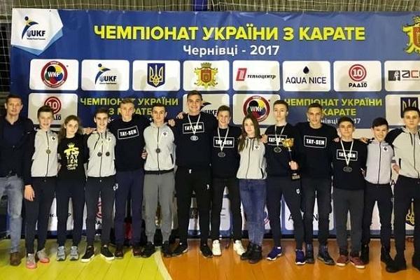 У Чернівцях на чемпіонаті України з карате за перемогу боролися 550 спортсменів