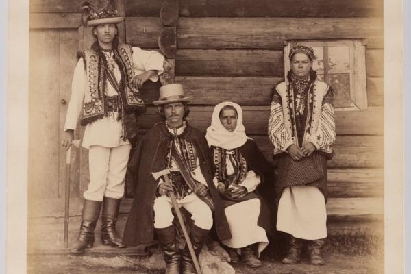 Жителі Покуття та Буковини 150 років тому: раритетні світлини (Фото)