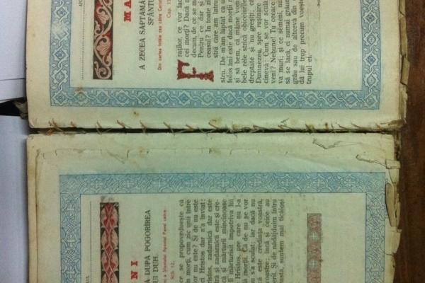 Буковина: румун хотів вивезти старовинну Богосжлужбову книгу «APOSTOL» (Фото)