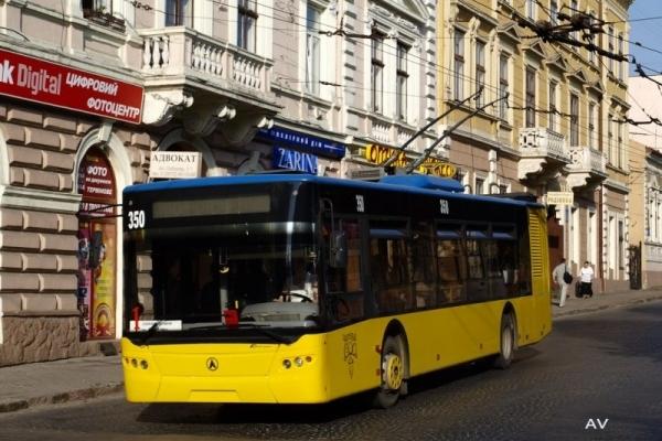 У Чернівцях поїдуть нові тролейбуси