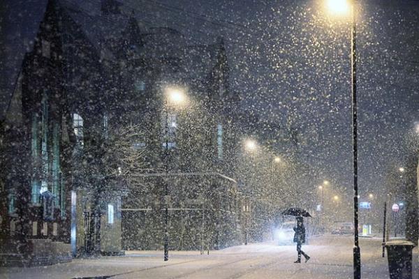 Вихідні у Чернівецькій області: хмарно з проясненнями та мокрий сніг