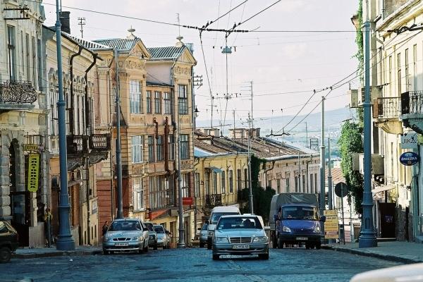 На Центральній площі Чернівців садитимуть дерева й кущі