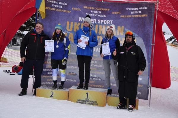 Студентка з Чернівців стала кращою лижницею з дисципліни «слалом-гігант» (Фото)