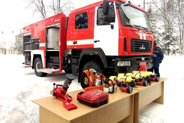 Рятувальникам Сторожинця вручили нову техніку (Фото)
