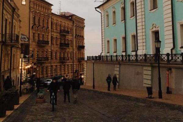 «Креативний» балкон обурив мешканців Києва (Фото)