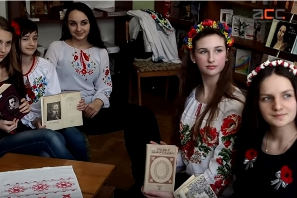 Буковинські школярі читали Шевченка (Відео)