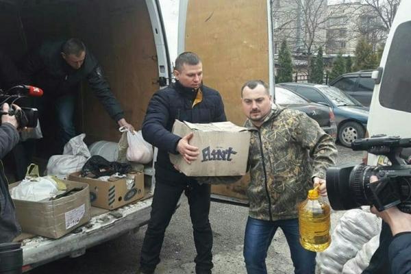 Працівники Путильського держлісгоспу передали допомогу в зону АТО (Фото)