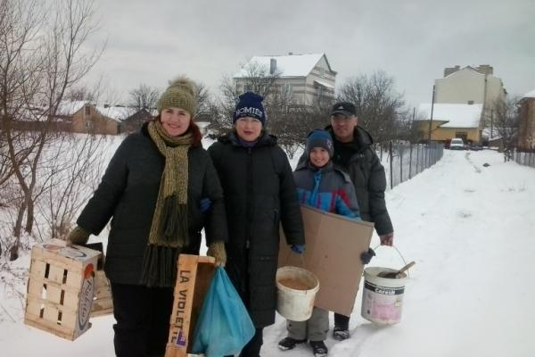Жителі Чернівецької області рятують птахів (Фото)