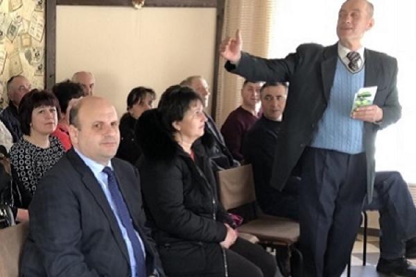 Головою Хотинські районної «Батьківщини» став Анатолій Банар