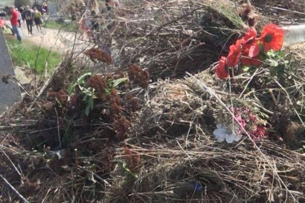 Буковинці обурилися станом кладовища у провідну неділю