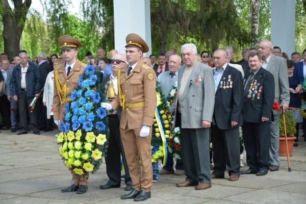 У Чернівцях вшанували ліквідаторів наслідків аварії на Чорнобильській АЕС