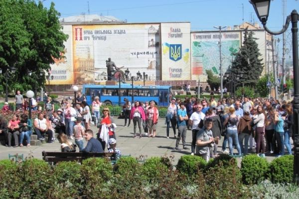 Туристи з усього світу їдуть у Чернівці (Фото)