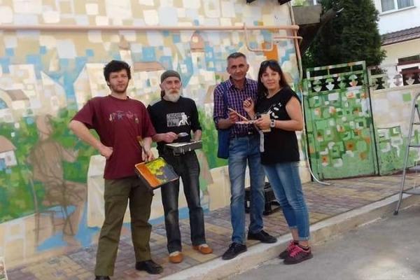 Туристичний об'єкт - Стіну Муралів - планують створити у Чернівцях (Фото)