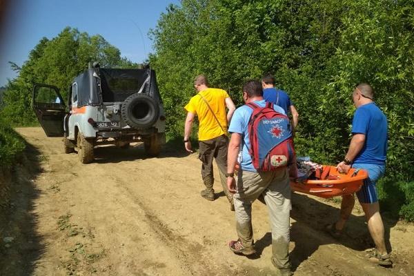 У Чернівецькій області восьмирічна дівчинка зірвалася зі скелі