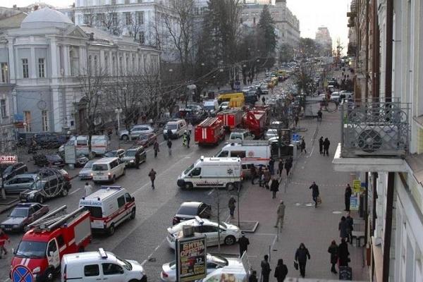 В центрі Києва обвалилась відома історична будівля (Фото)