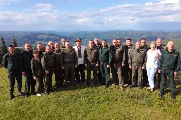 Чернівецькі та волиньські лісівники обмінялися досвідом (Фото)