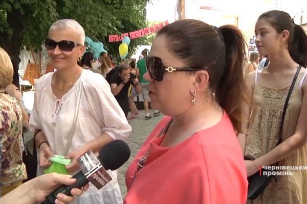 Чернівчани обмінювали сміття на подарунки (Відео)
