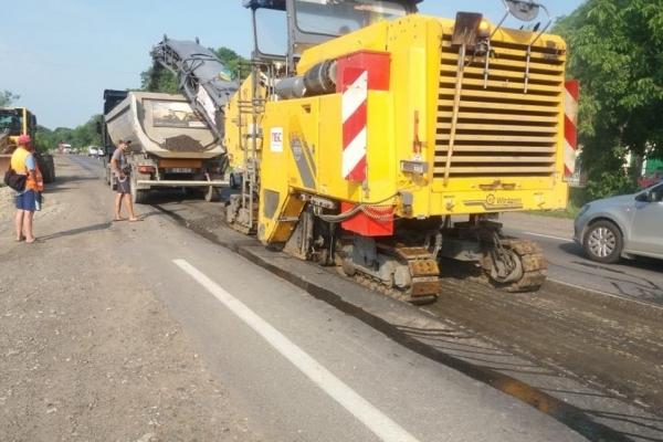 У Чернівецькій області розпочали ремонт дороги (Фото)