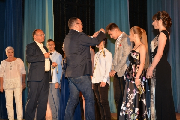 Міський голова відзначив кращих випускників (Фото)