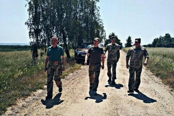 Фищук бере участь у навчаннях із бригадою територіальної оборони «Північна фортеця-2018»