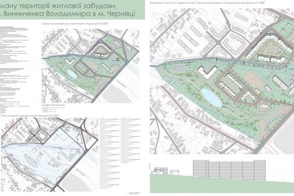 У Чернівцях назвали переможців конкурсу на кращу пропозицію плану території житлової забудови (Фото)