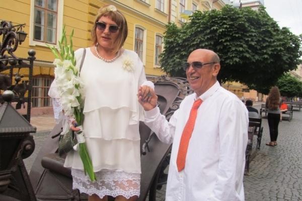 Легенда футболу приїхав до Чернівців на своє золоте весілля