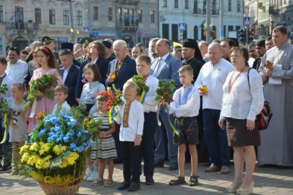 У Чернівцях відсвяткували 27 річницю Незалежності України (Фото)