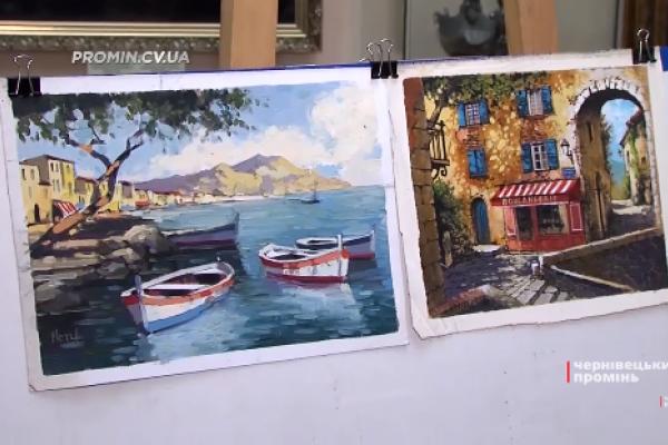 Художник з Ізраїлю подарував чернівецькому музею 12 своїх картин