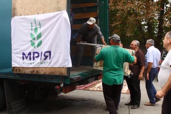 Сотні тисяч гривень Агрохолдинг «Мрія» спрямовує на допомогу медзакладам Буковини (Фото, відео)