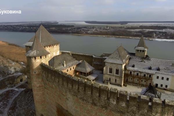 Хотинська фортеця з висоти пташиного польоту підкорює інтернет (Відео)