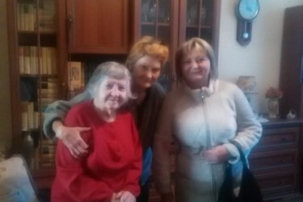 Чернівчан-довгожителів привітали напередодні Дня міста  (Фото)
