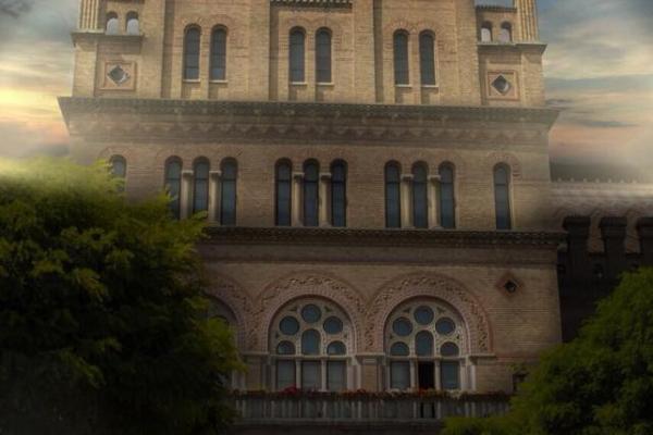 Чернівецький національний університет підсвітять (Фото)