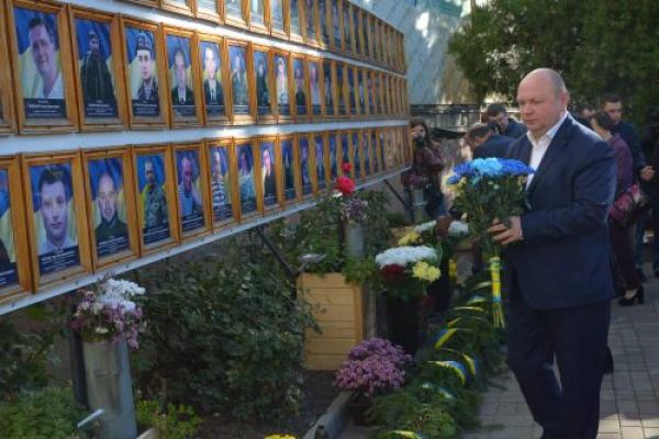 Як у Чернівцях відзначили День Захисника України (Фото)