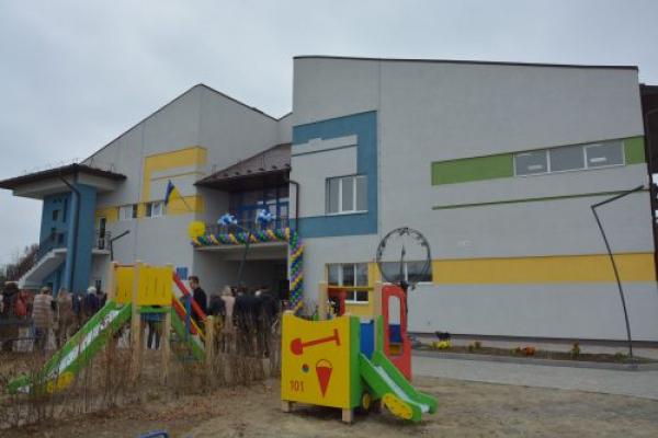У Садгорі відкрився новий сучасний дитячий садочок «Лелеченя» (Фото)